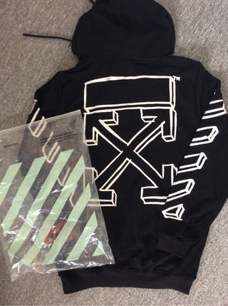 Off-white limited edition black hoodie