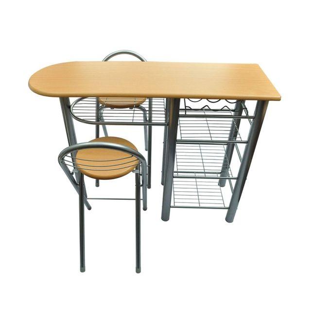 Mesa cocina con taburetes desayuno de segunda mano por 45 - Mesa cocina con taburetes ...
