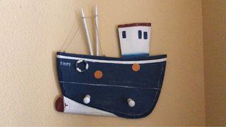 Perchero barco