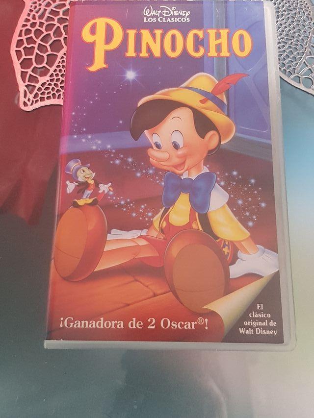 Películas Walt Disney VHS