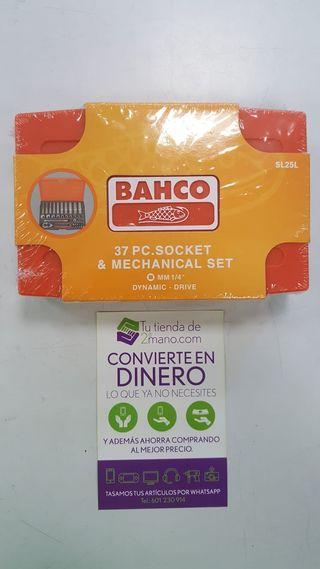 JUEGO VASOS + CARRACA BAHCO SL25L