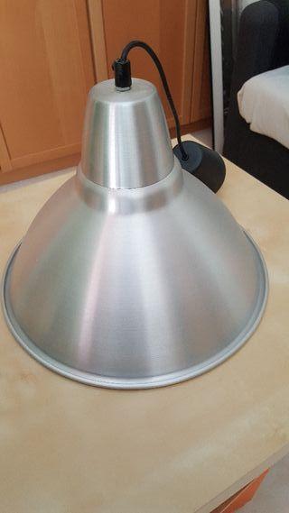 Lámpara de techo, aluminio, 38 cm