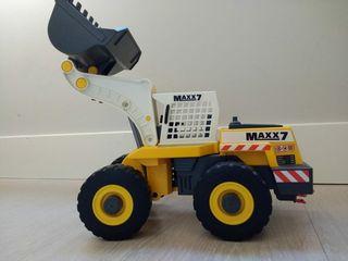 tractor retroexcavadora Playmobil