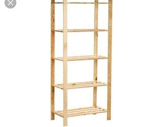 estanteria de madera ikea