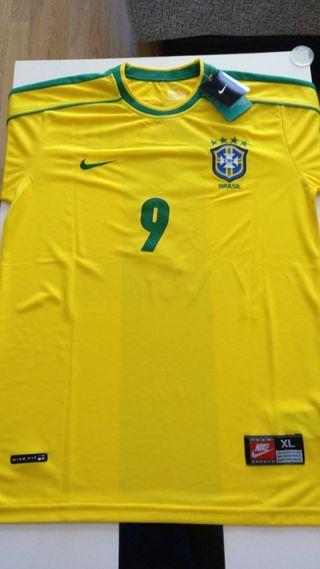 Ronaldo 9, Camiseta Brasil, mundial 1998