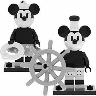 Lego Serie Disney 2 71024, Mickey y Minnie, Nuevos