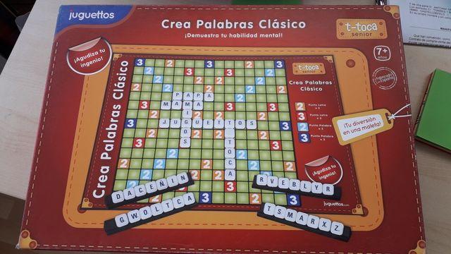 JUEGO CREA PALABRAS