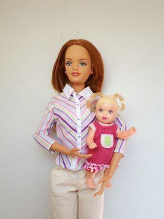 Barbie Migde y Nikki.