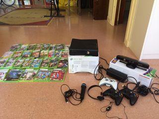Xbox 360 250gb con kinetic