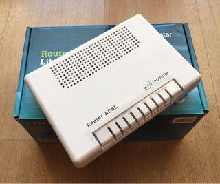 Router ADSL wifi Internet Movistar Nuevo