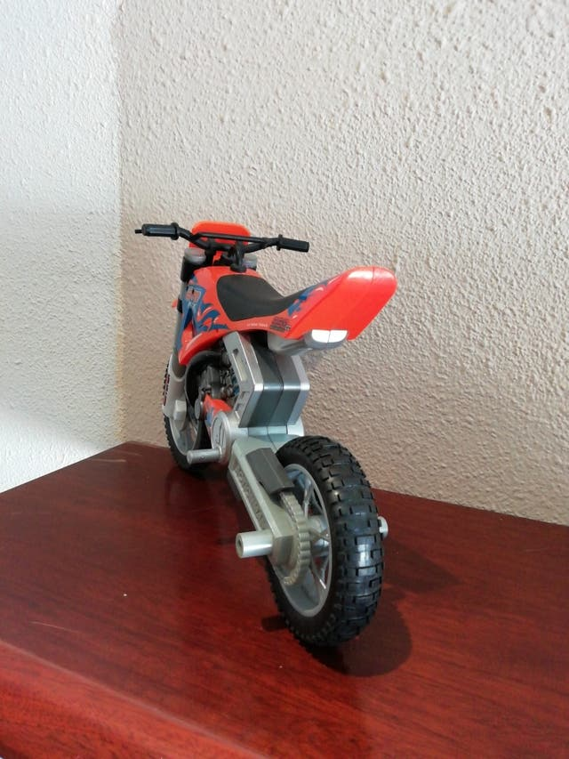 Moto trial action man