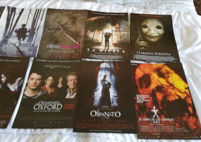 Afiches/Carteles DIN4 películas de terror