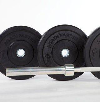 Barra con pesas CrossFit