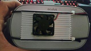 Refrigeración para Oculus Go