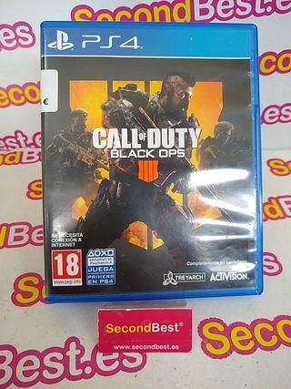Juego COD Black OPS 4 PS4