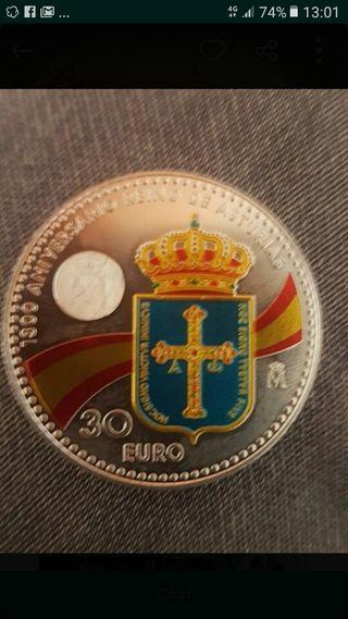 Moneda 30 euros