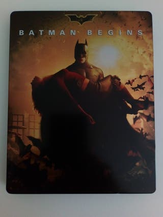 steelbook blu Ray Batman Begins