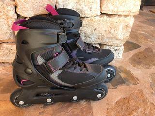 Patines de patinaje en línea Oxelo Fit.3