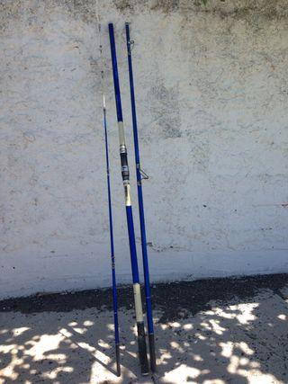 09a4843d42f Caña de pescar Vercelli de segunda mano en WALLAPOP