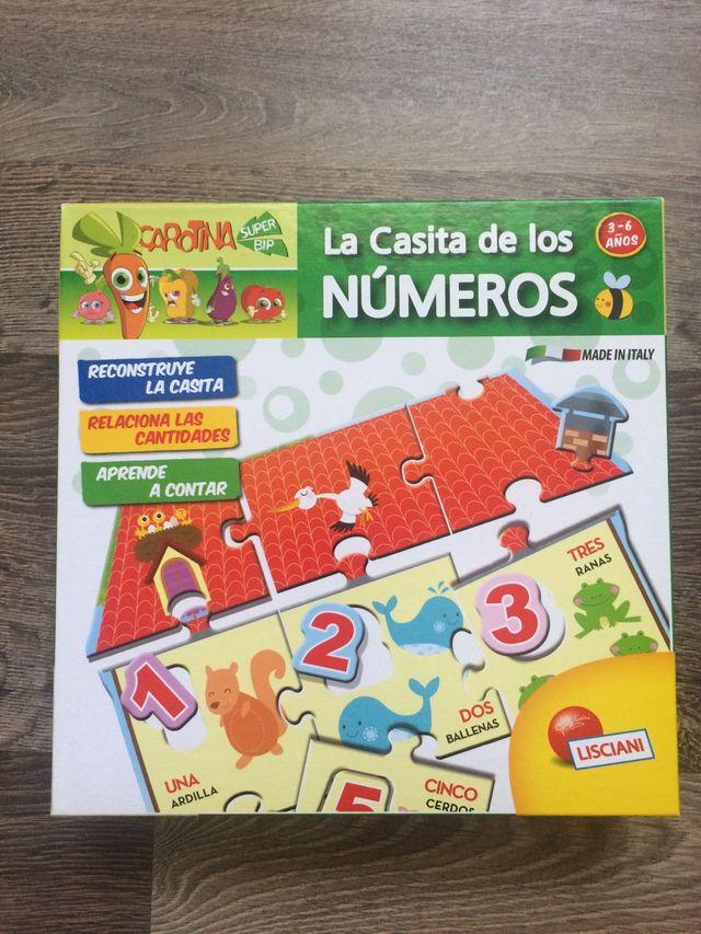 Juego para aprender números