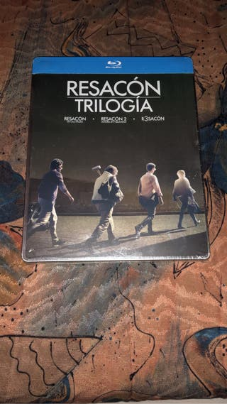 Trilogía Resacón Steelbook Bluray