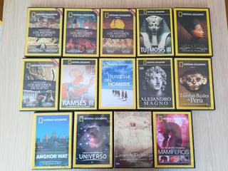 DVDs documentales National Geographic