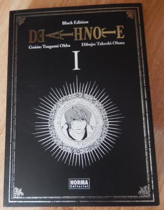 Death Note BLACK EDITION VOLUMEN 1