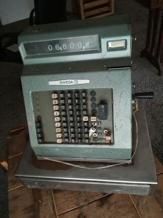 Caja Registradora Antigua Vintage