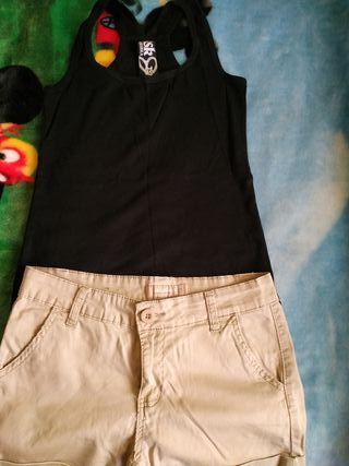 Camiseta y pantalón talla L