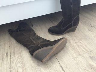 Botas ante marrón talla 36