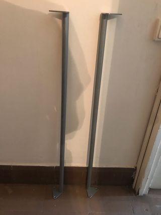 2 BARRAS ARMARIO PAX IKEA - Armario de 1m