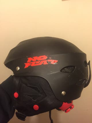 No fear helmet size M