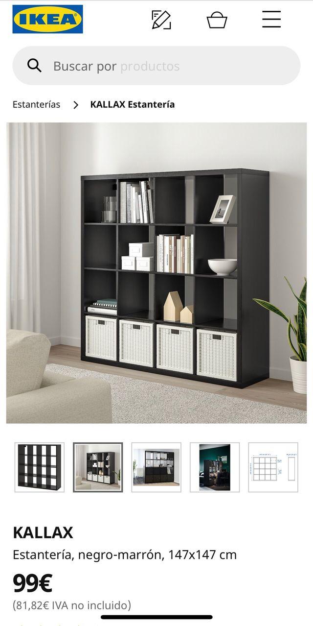 Estantería Ikea Kallax