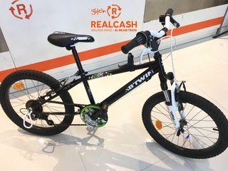 Bicicleta de montaña Infantil Btwin Racing Boy 500