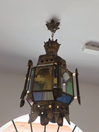 Lámpara arabe