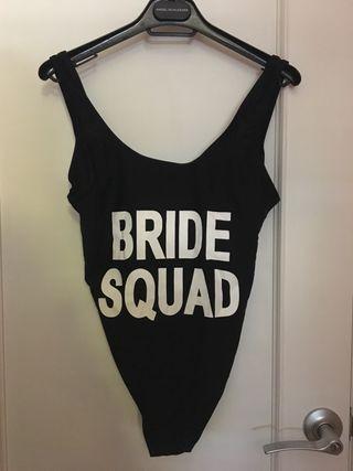 Bride De Mano Por Segunda 5 Bañador Squad LRc54q3Aj