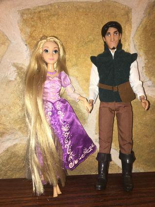 Muñeca Rapunzel y Eugene