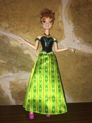 Muñeca Princesa Anna Frozen Canta
