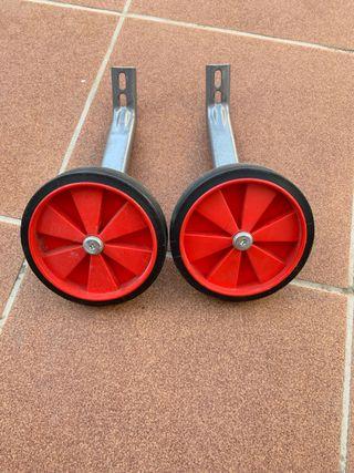 Ruedines bicicleta infantil nuevos sin usar