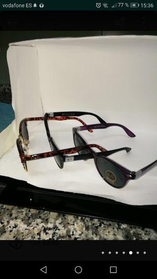 lote 3 gafas de sol nuevas solo gafas sin funda