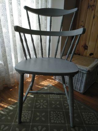 silla de castaño