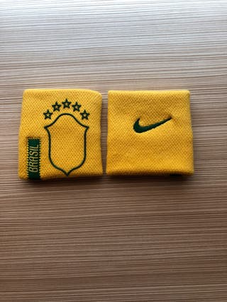 Muñequeras Nike Brasil.
