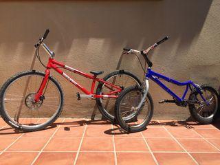 """Bicis trial Monty X-Lite 221 + Megamo 26""""Equip Pro"""