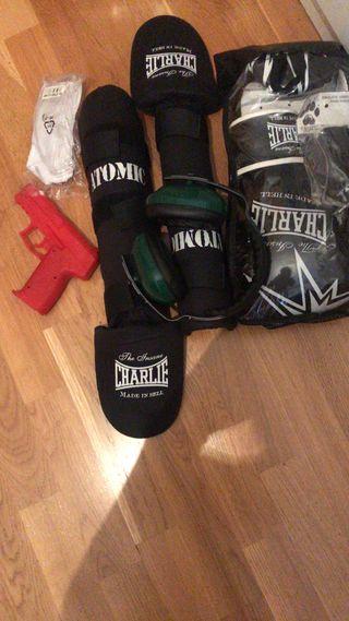 Pack alumno escuela nacional de policía boxeo