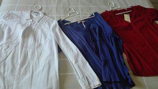 Varias prendas ropa