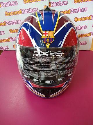 Casco Hebo FC Barcelona talla M