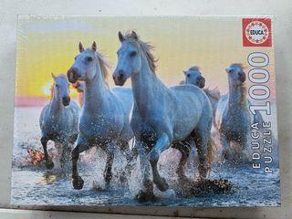 Puzzle caballos