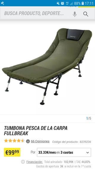 cama de carpfishing