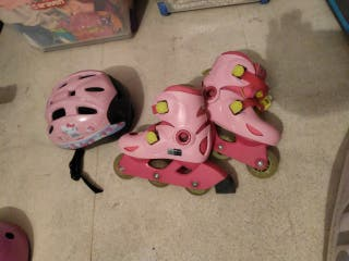 patines y casco