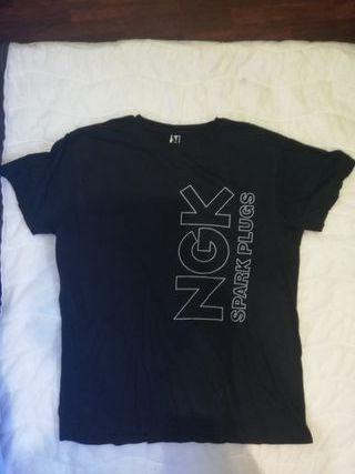 Camiseta negra talla L